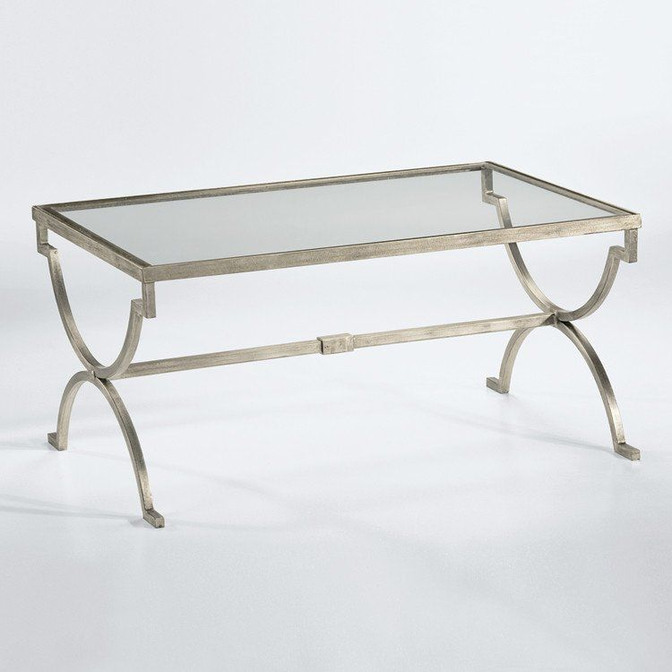 Modern Silver Gilt Iron Coffee Table Mit Bildern Couchtisch