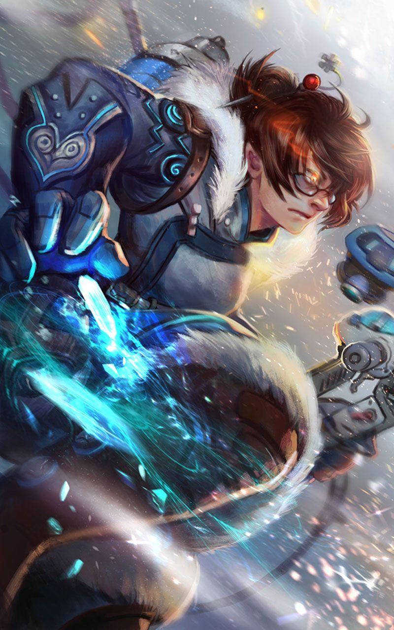 Mei Ling Zhao In 2020 Overwatch Mei Overwatch Fan Art Overwatch Wallpapers
