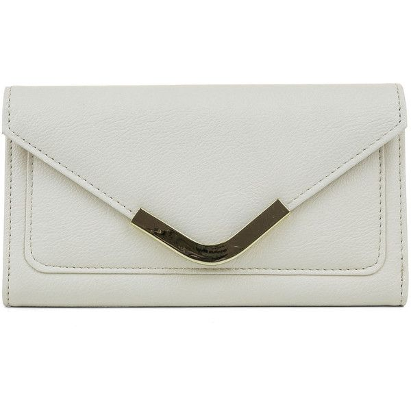 Mundi Rhonda Envelope Clutch Wallet/ (170 NOK) ❤ liked on Polyvore featuring bags, wallets, clutch wallet, envelope clutch bag, flap wallet, mundi wallet and envelope clutch