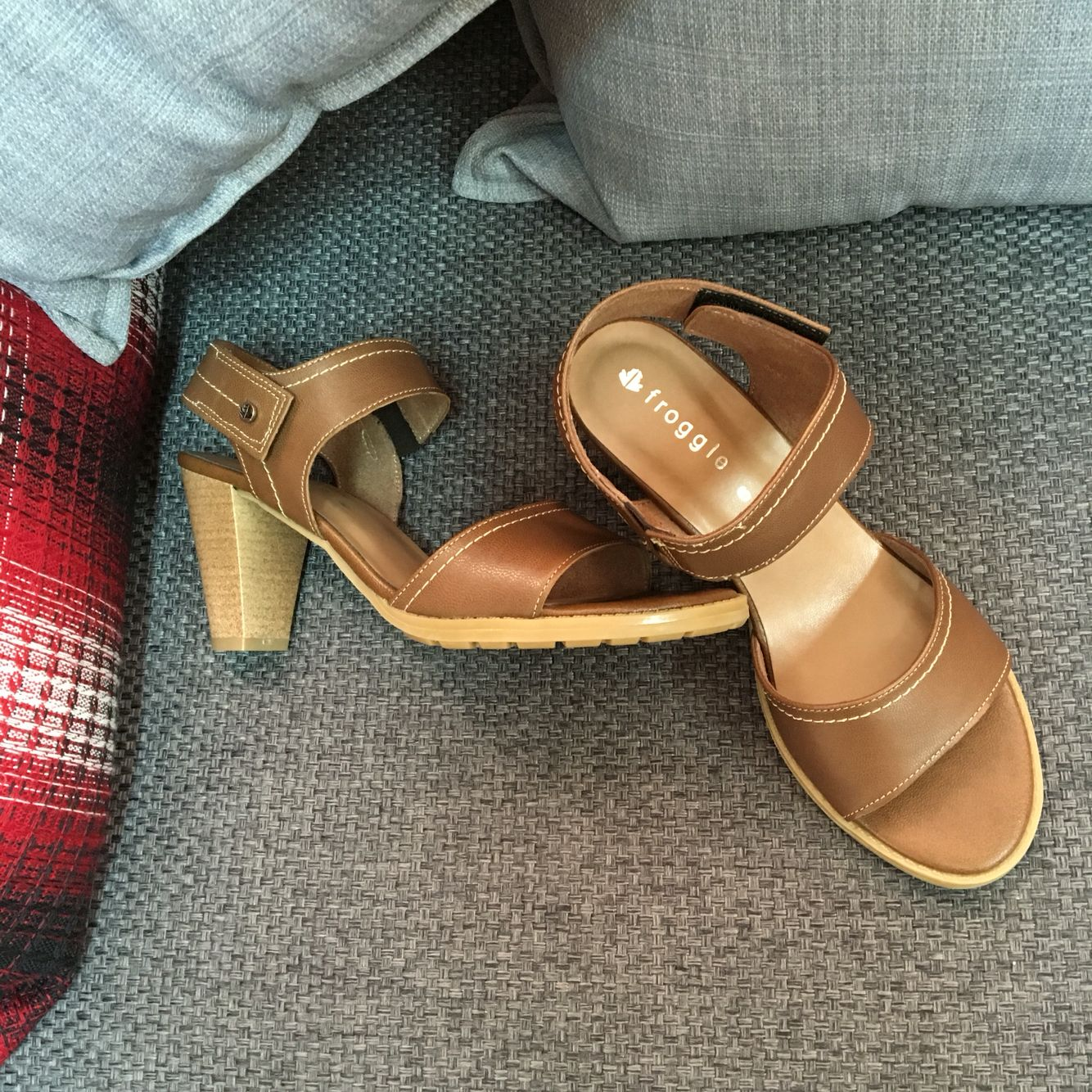 Froggie Shoes Block Heel Sandals Comfort Zone For The Perfect Lady These