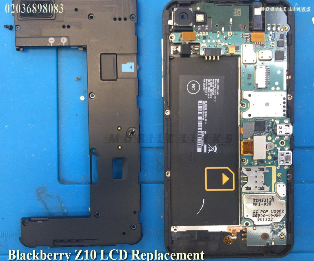 Blackberry Z10 Broken LCD/Display Replacement Repair