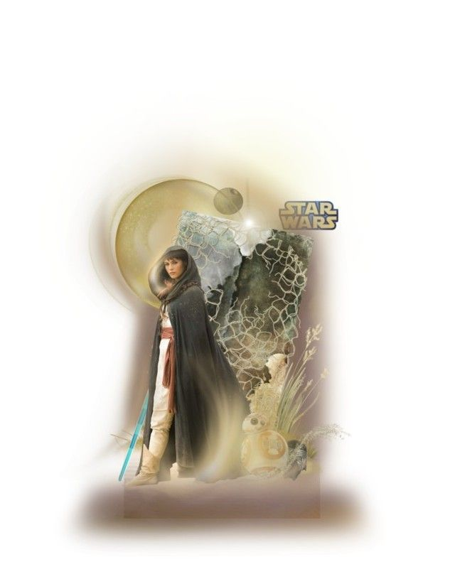 """Star Wars"" by poshtrish ❤ liked on Polyvore featuring art, dollset, starwars, artset and polyvoreeditorial"