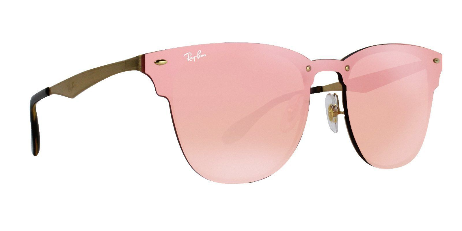 00420787e4 Ray Ban - RB3576N Gold - Pink sunglasses in 2018