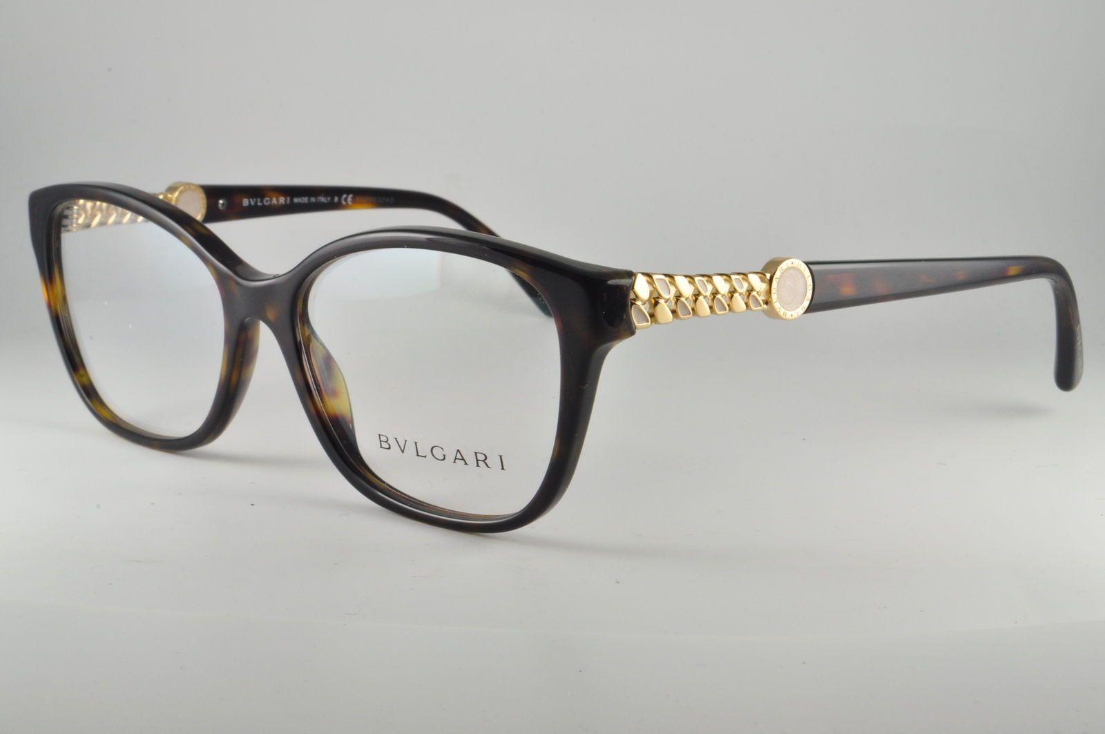 69841eb0668 Bvlgari Eyeglasses BV 4109 504 Dark Tortoise