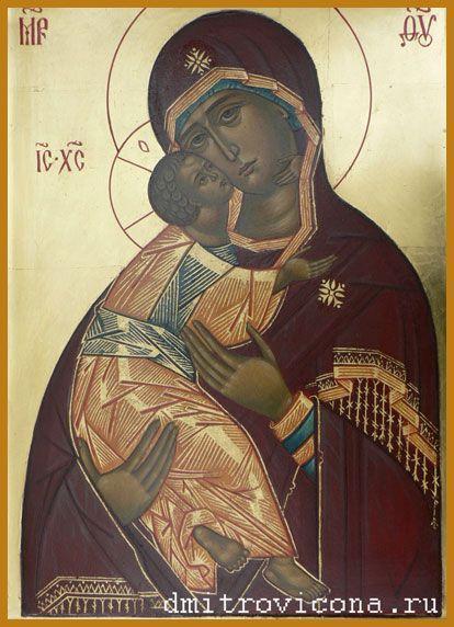 Изобр по > Богородица Владимирская