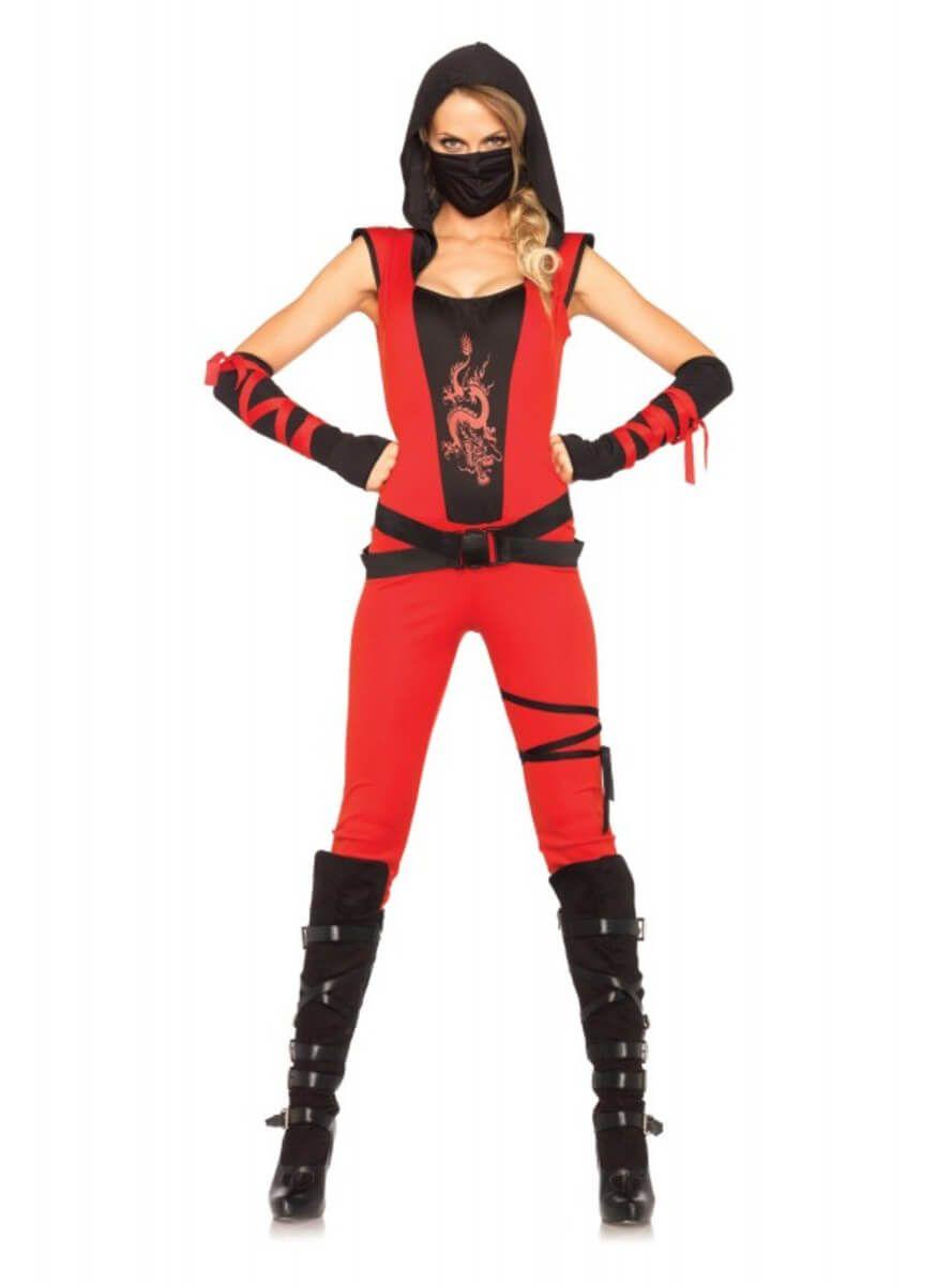 disfraz ninja mujer casero