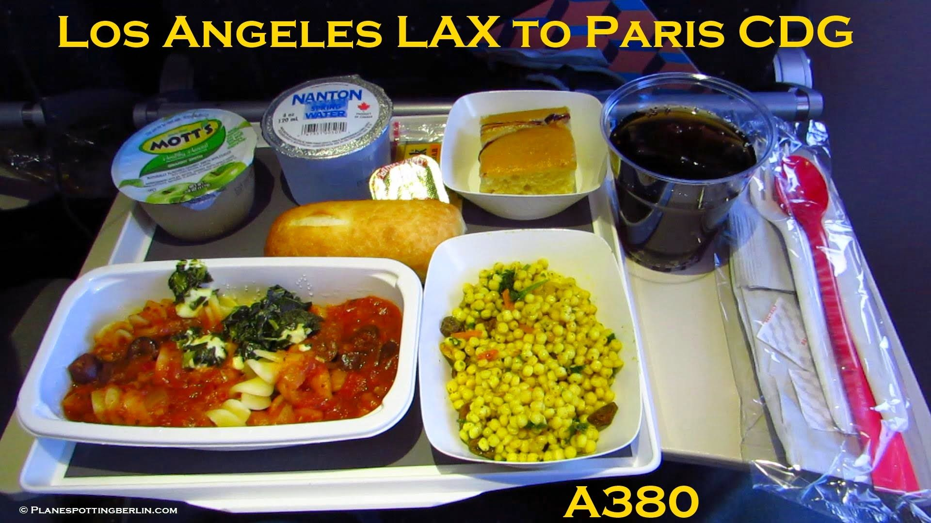 TRIP REPORT AIR FRANCE Airbus A380 Los Angeles to
