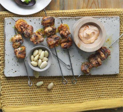 Smoky Chicken Skewers Recipe Savory Chicken Skewers Chicken