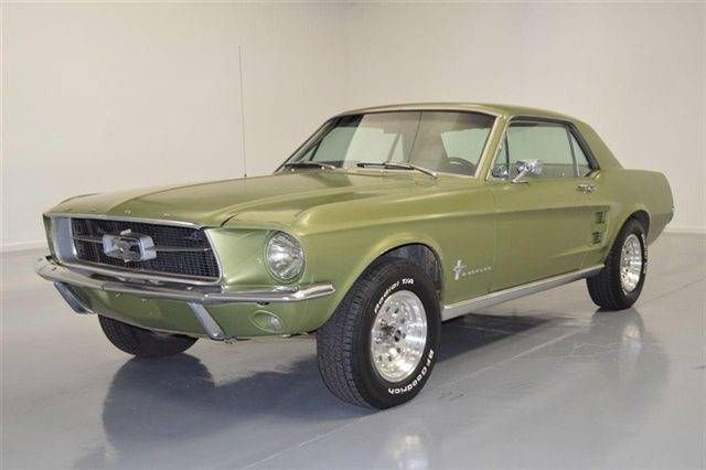 1967 Ford Mustang Coupe For Sale Hemmings Motor News Ford Mustang Coupe Ford Mustang Ford Classic Cars