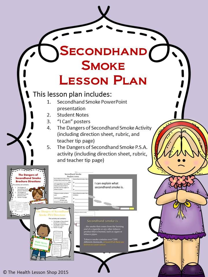Pin On Tobacco Lessons Activities