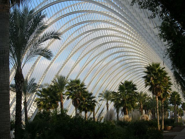 L'Umbracle, Valencia, Spain