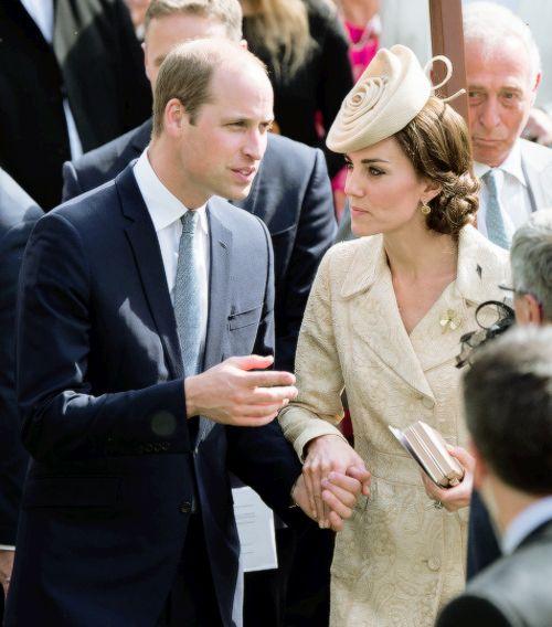 royalsgonewild: British Secretary of State for Northern Ireland's Garden Party, Hillsborough Castle, Northern Ireland, June 14, 2016-The Duke and Duchess of Cambridge