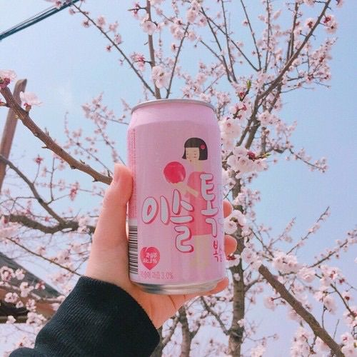 รูปภาพ pink, drink, and pastel