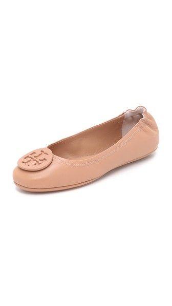 adbe14b78ff0 Tory Burch Minnie Travel Ballet Flats size 8.5