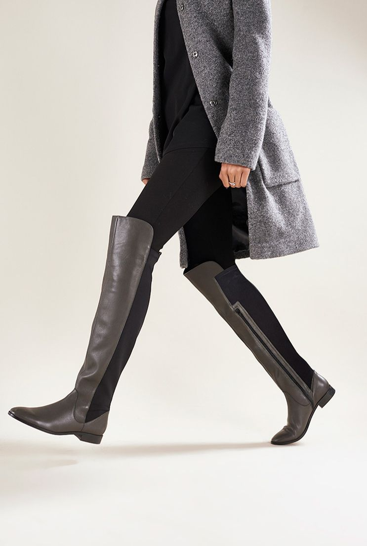 e789498101a1 LTS Willow Leather Tall Boot. Find this Pin and more on Large Size Women s  Shoes ...