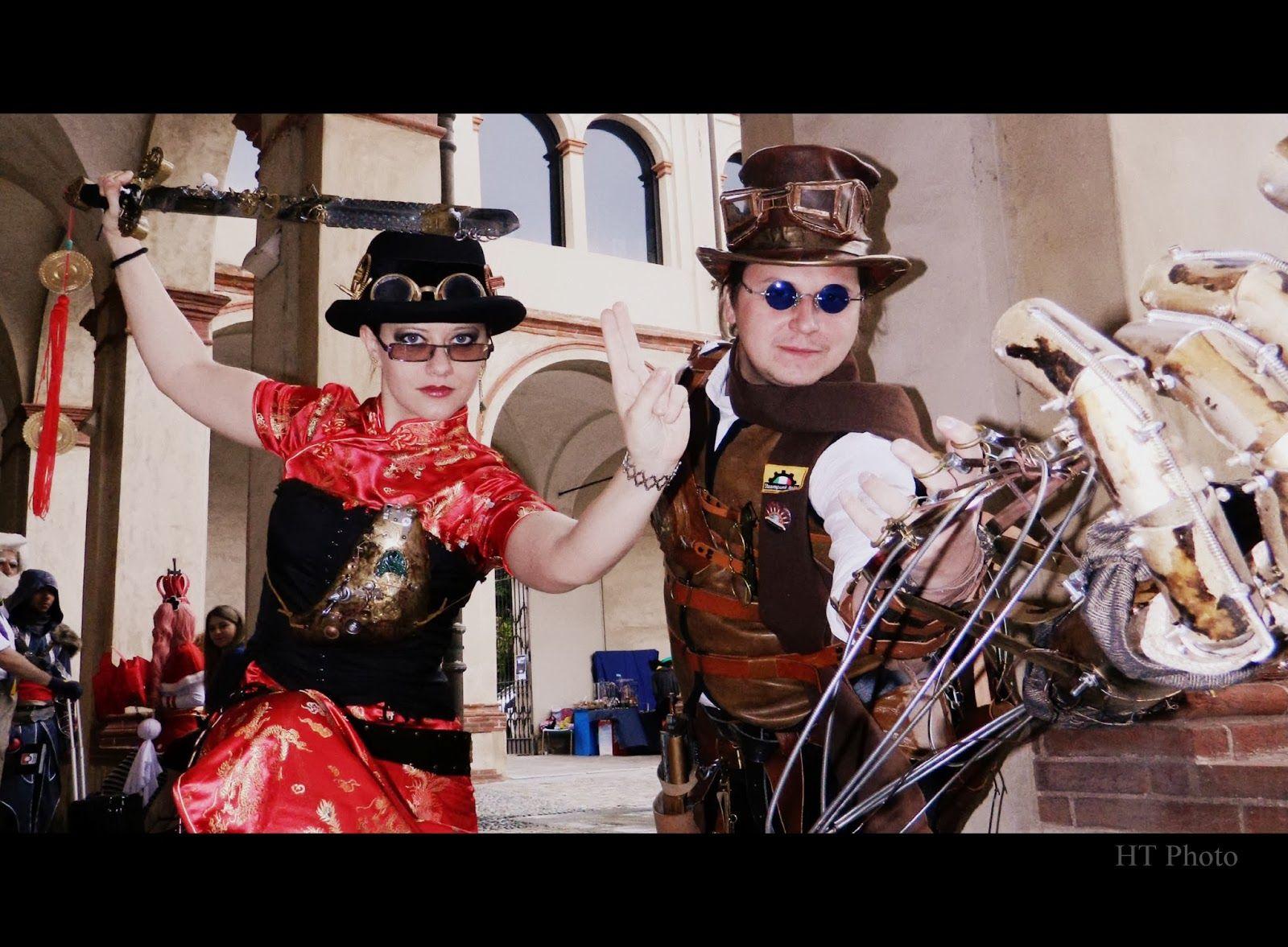 Cose, di Arte: Cosplay  great steampunkers