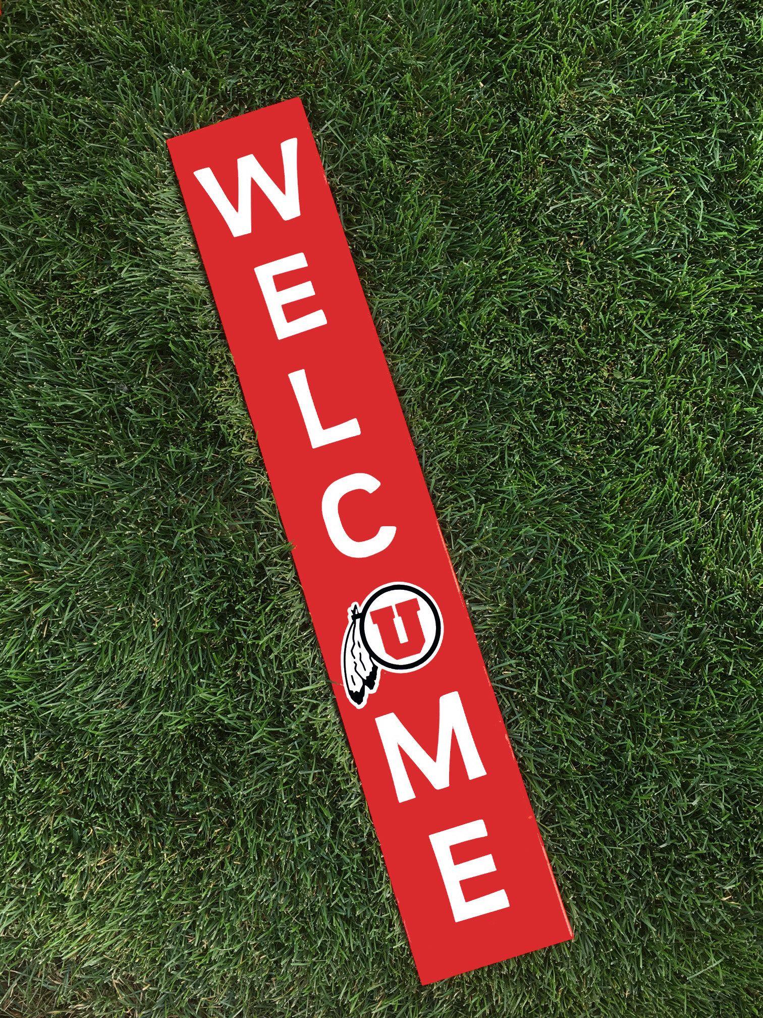 Utah Utes Utah Utes Decor U Of U Utes Welcome Porch Sign University Of Utah University Of Utah Decor College De Porch Signs Porch Welcome Sign Utah Utes [ 2016 x 1512 Pixel ]