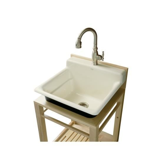10 Easy Pieces Utility Sinks Remodelista Utility Sink Wood Sink Small Utility Sink