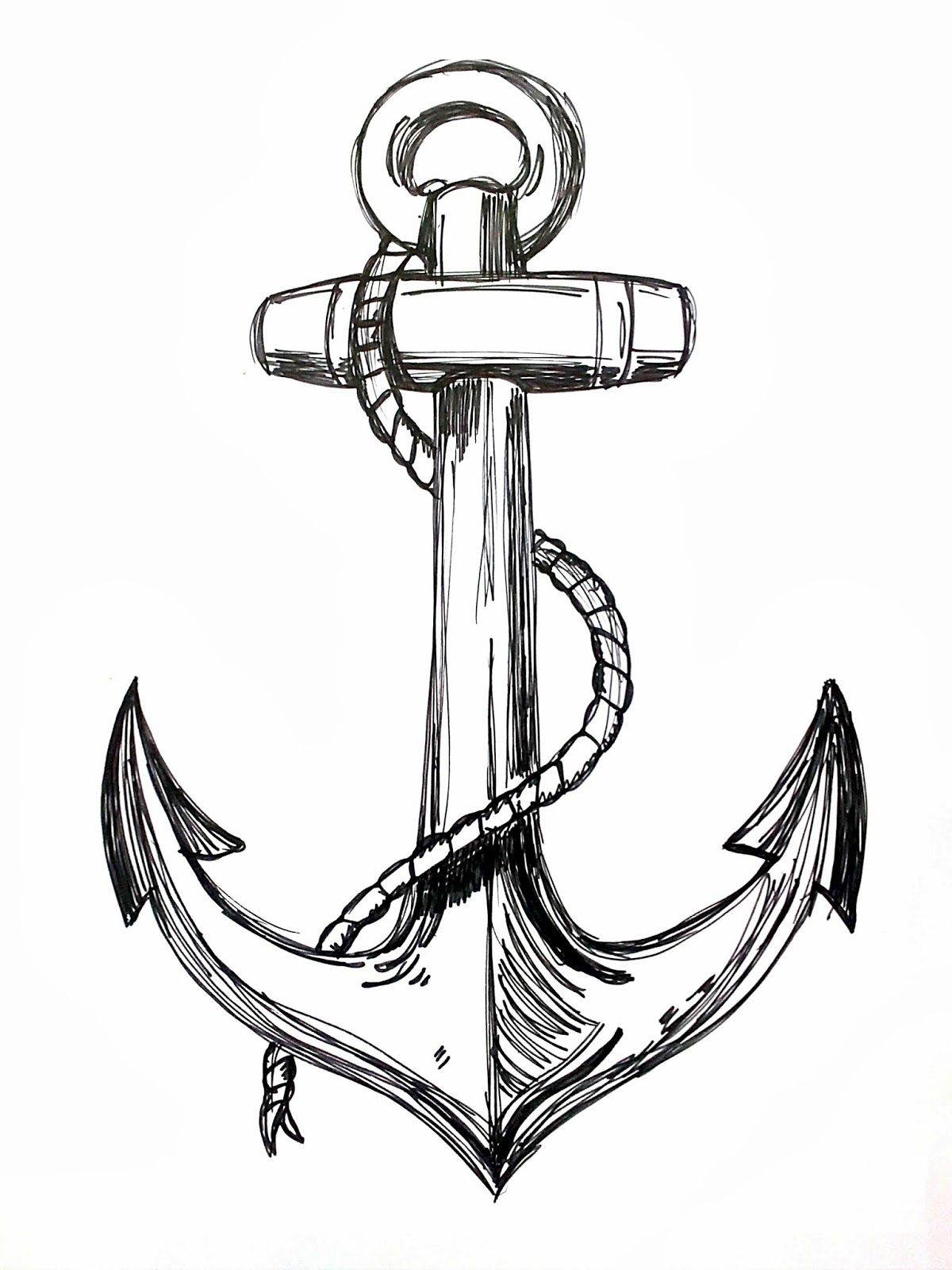 Nautical Line Art