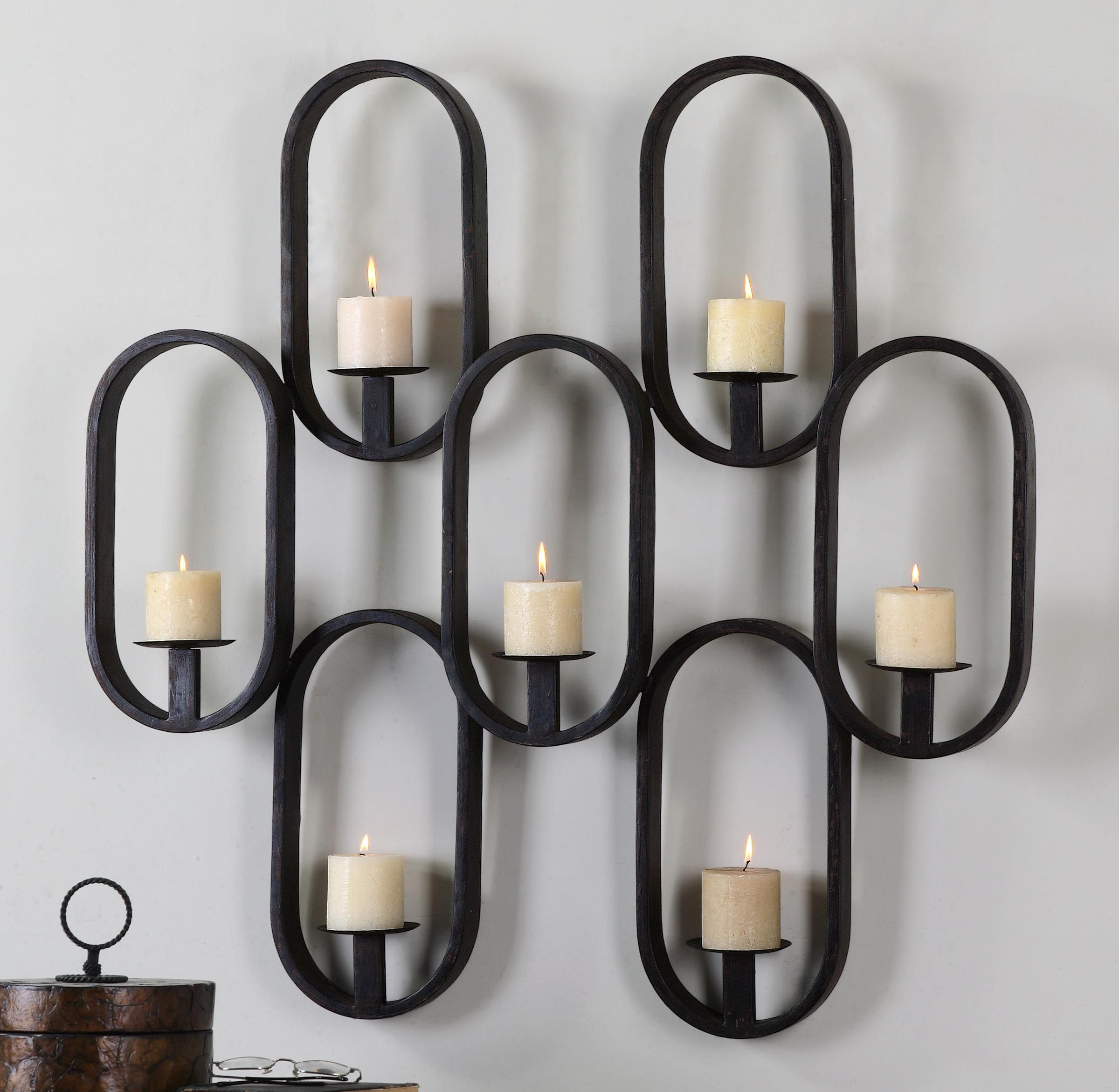 modern sconces wall furniture uttermost hudsons proportions pertaining clocks x to nico ronan clock sconce desk