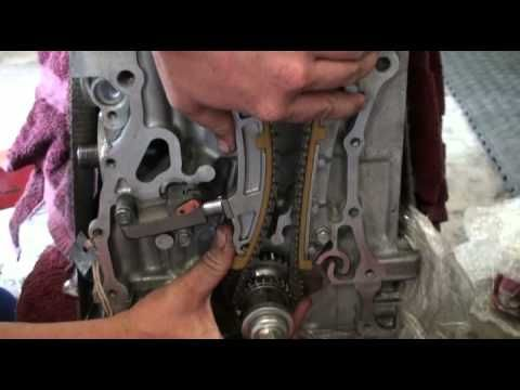 timing chain tensioner installation for k24 the how to self rh pinterest com 2009 Acura TSX Acura 2006 TSX Climate Control