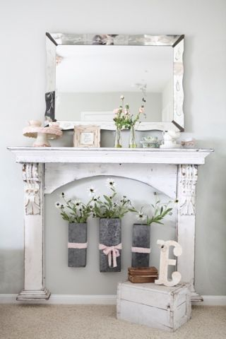 At Home A Blog By Joanna Gaines For The Home Faux Fireplace