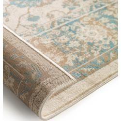 benuta carpet Velvet Cream 120x170 cm - vintage carpet in used look benuta