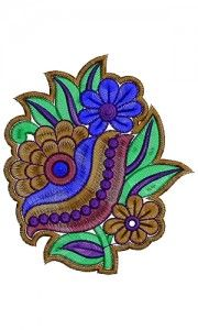 Embroidered Designer Patch 13375