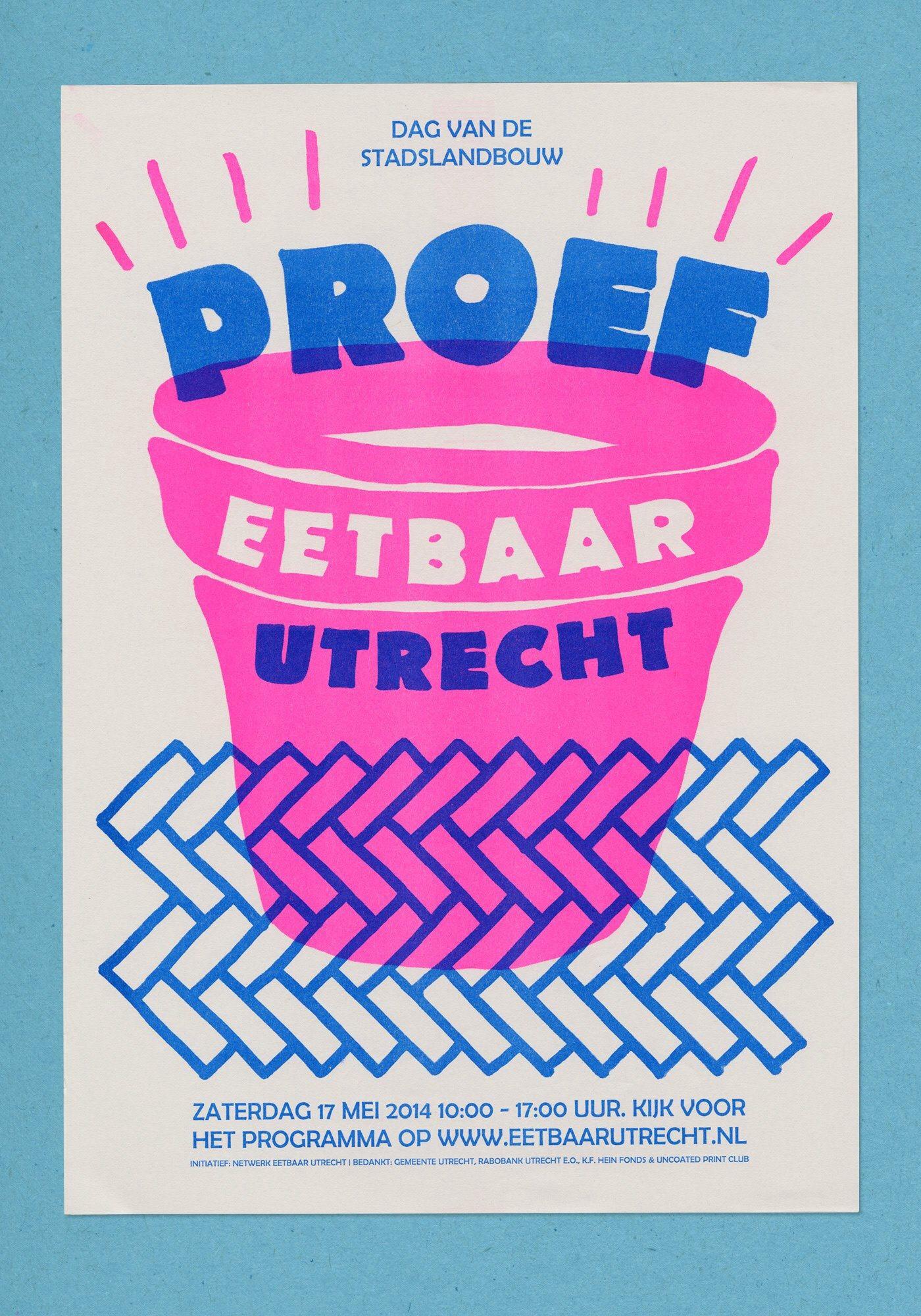 Risograph Print, Riso Print, Graphic