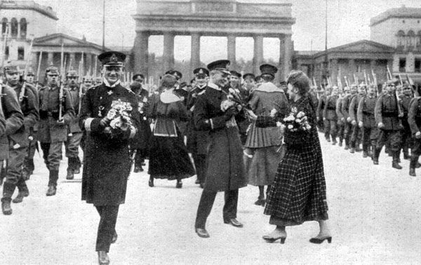germany after ww1 | ... after surprisingly coming back to Germany ...