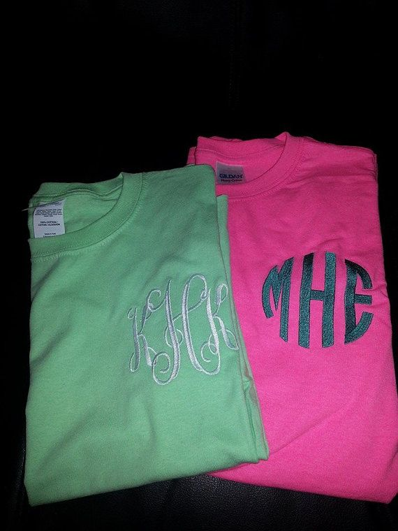 Personalized TShirts Monogrammed TShirts by MimisBoutiqueShop