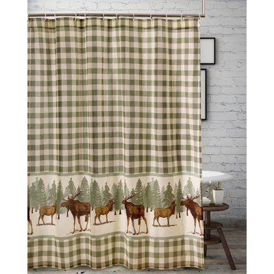 Millwood Pines Castle Moose Single Shower Curtain Shower Remodel