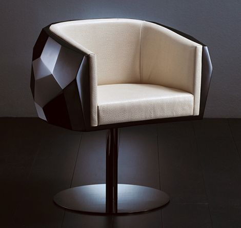 The Fendi Casa Crystal Chair Is Multi Faceted Like A Precious Gem. A Design  Triumph, Its Iconic Form Will Certainly Add A Sparkle To Your Modern Home.