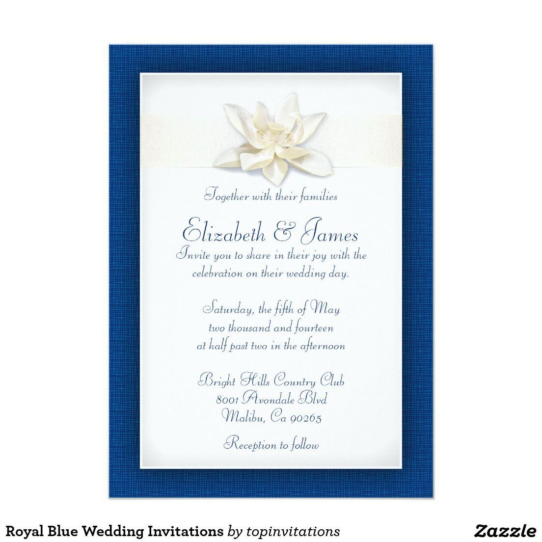party invitations royal blue wedding invitations royal blue wedding invitations