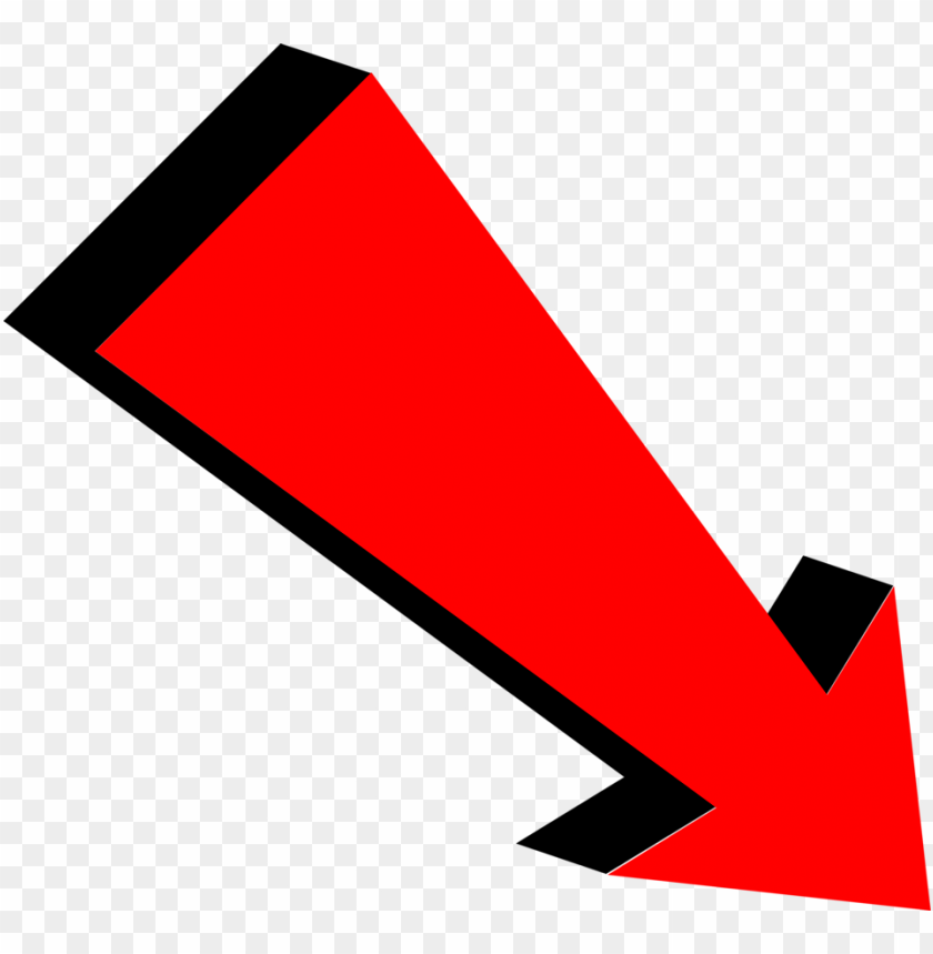 Red Down Arrow Png Png Image With Transparent Background Png Free Png Images Arrow Illustration Free Png Arrow Clipart