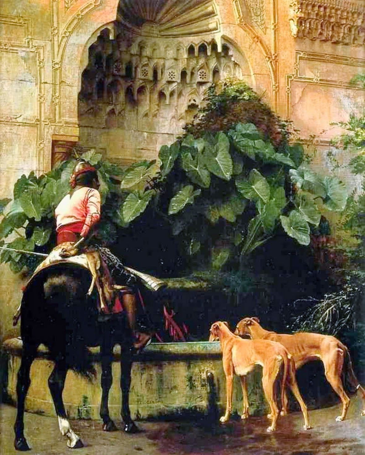 Home From The Hunt - Jean-Leon Gerome