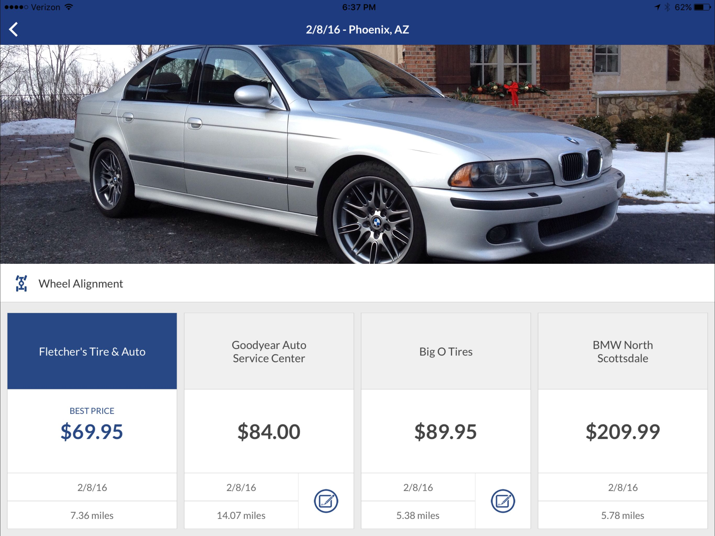 Wheel Alignment Cost >> Cost For A Wheel Alignment For 2003 Bmw M5 Blitzify
