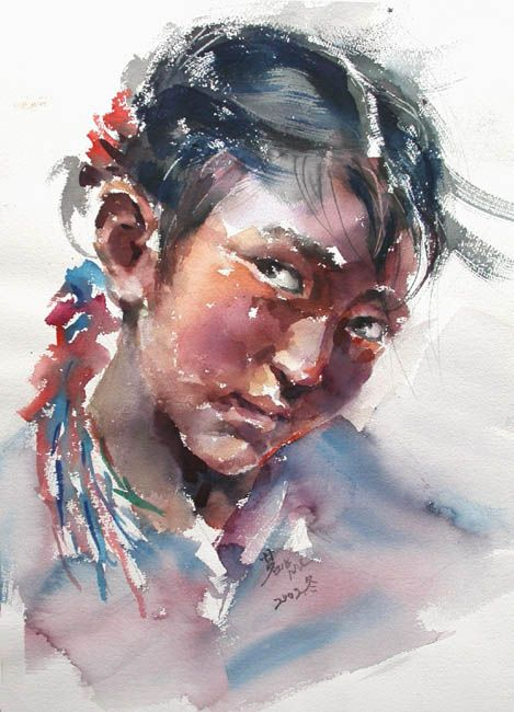 Cao Bei-an was born in 1957 in Shanghai, China. Is now a member of the Belgium Royal Artists Association, of the International Water-colour Painting Salon, and an art teacher in Namur Water-colour Painting School (Belgium) and a special contributor of the magazine China Water-colour.