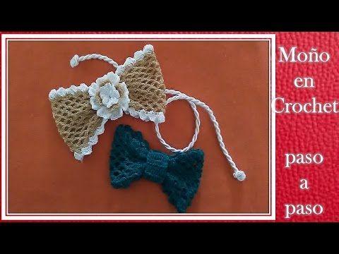 MOÑOS en crochet PASO A PASO - YouTube | Manualidades | Pinterest ...