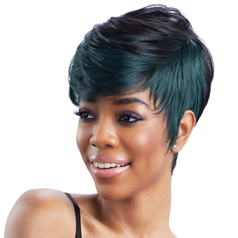 Neue schwarze Frisuren kurz - Frisur  Kurz geschnittene frisuren