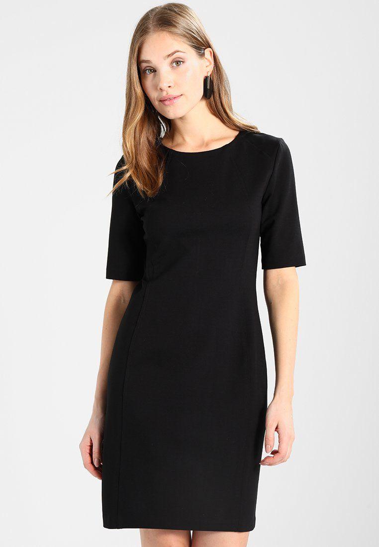 Benetton Ponte Business Dress Jerseyjurk Black Zalando Be