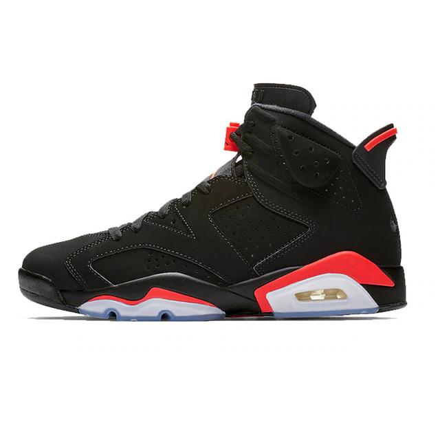 Air Jordan 6 Black Infrared Basketball Shoes Mens Sport Sneakers Air Jordans Retro Sport Sneakers