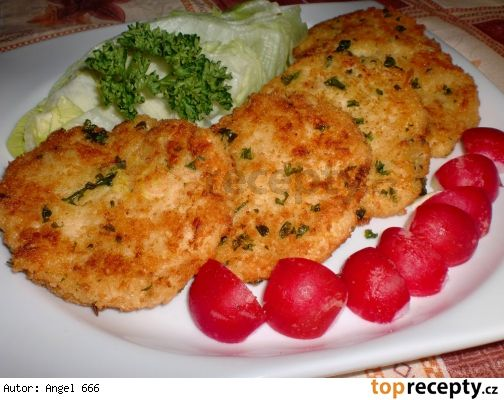 Celerovo - sýrové placičky