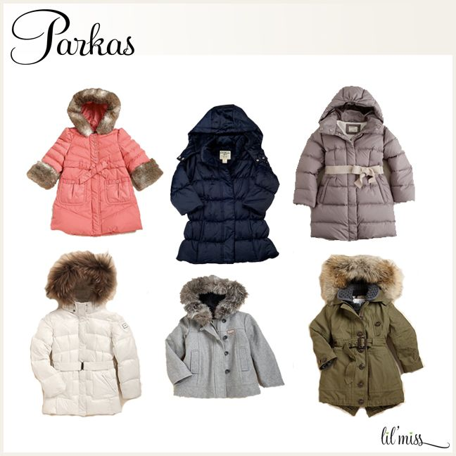 Best Parkas for Infant and Toddler Girls | Little Girls winter ...