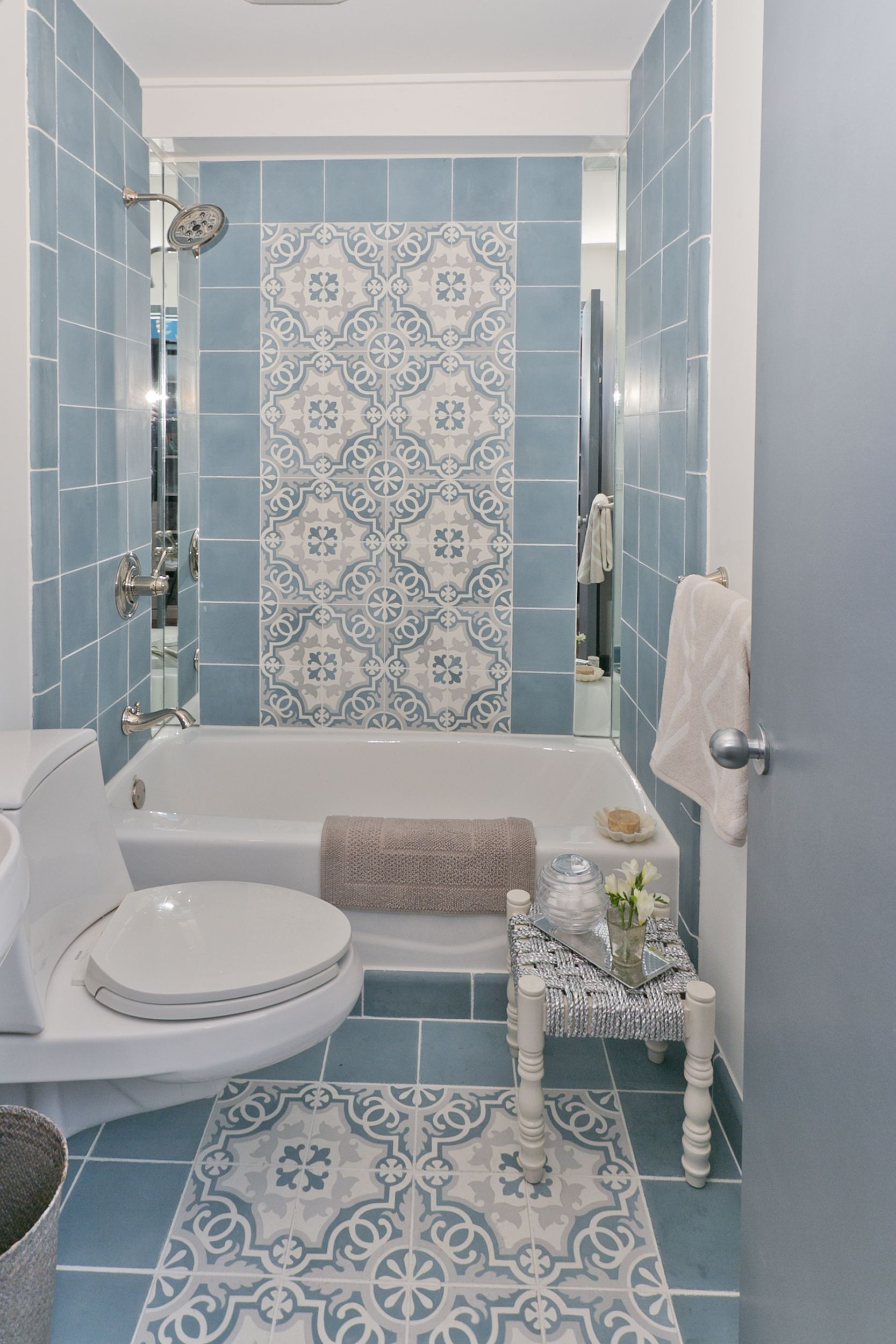 vintage pin sweet tub underneath window floor bathroom tile in clawfoot home