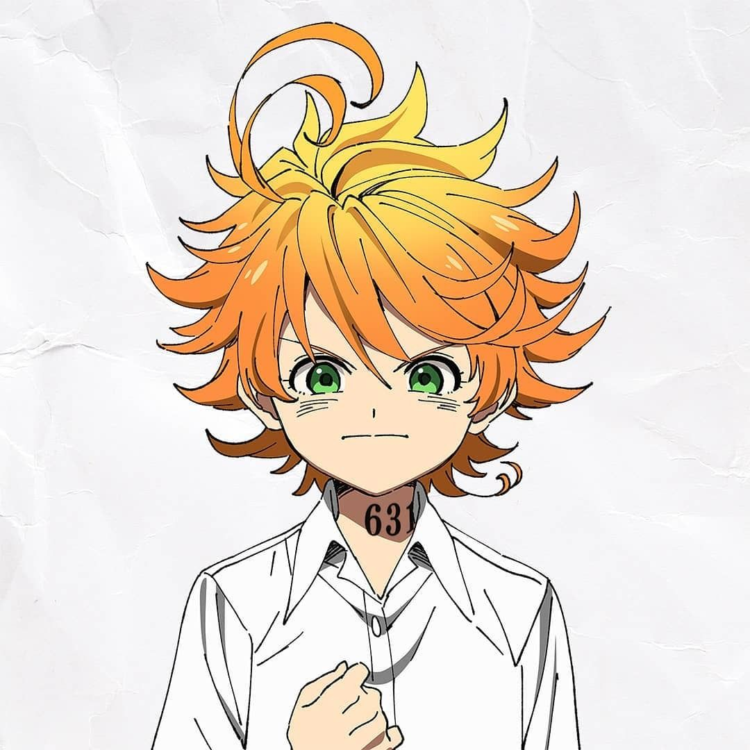 The Promised Neverland anime character headshots Dessin