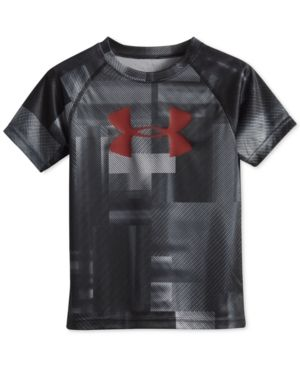 Under Armour Graphic-Print T-Shirt, Little Boys (2-7) - Steel 4T