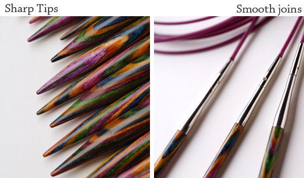Options Interchangeable Harmony Wood Circular Knitting Needle Set