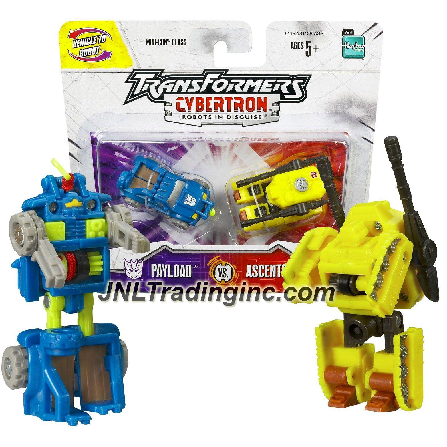 Transformers Cybertron Ascentor Complete Mini-Con Hasbro