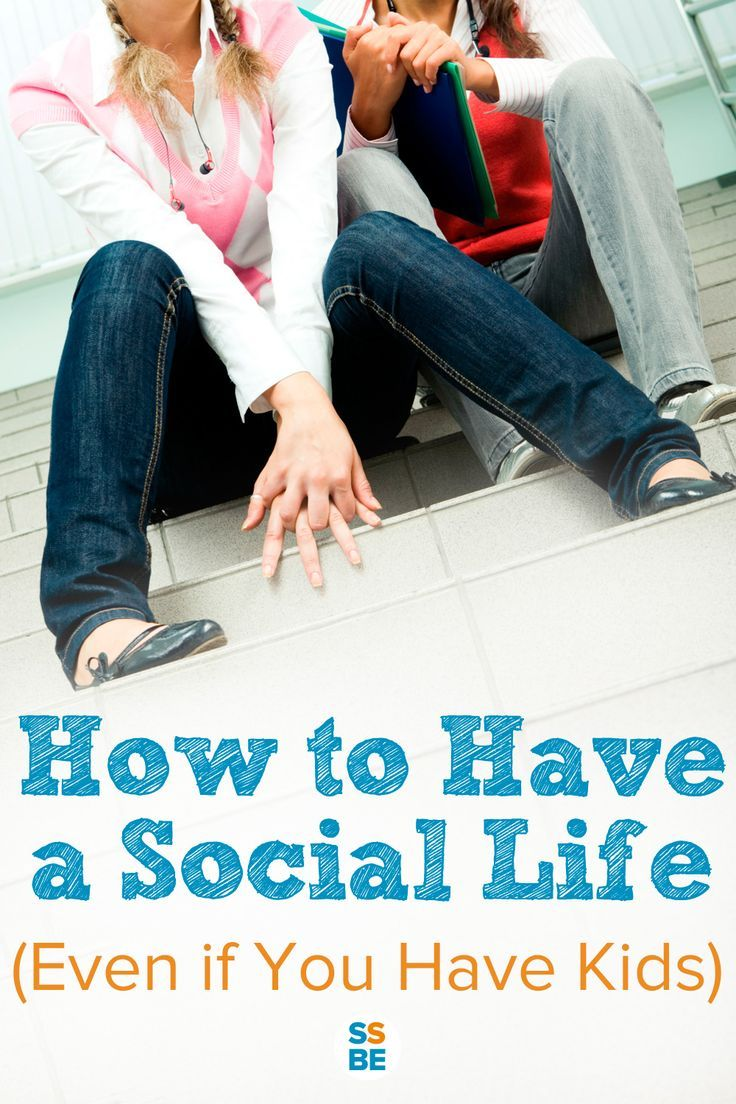 How important is your social life? Having kids doesn't mean you can't hang out with friends, family or your partner. Here's how to have a social life even as a busy parent.